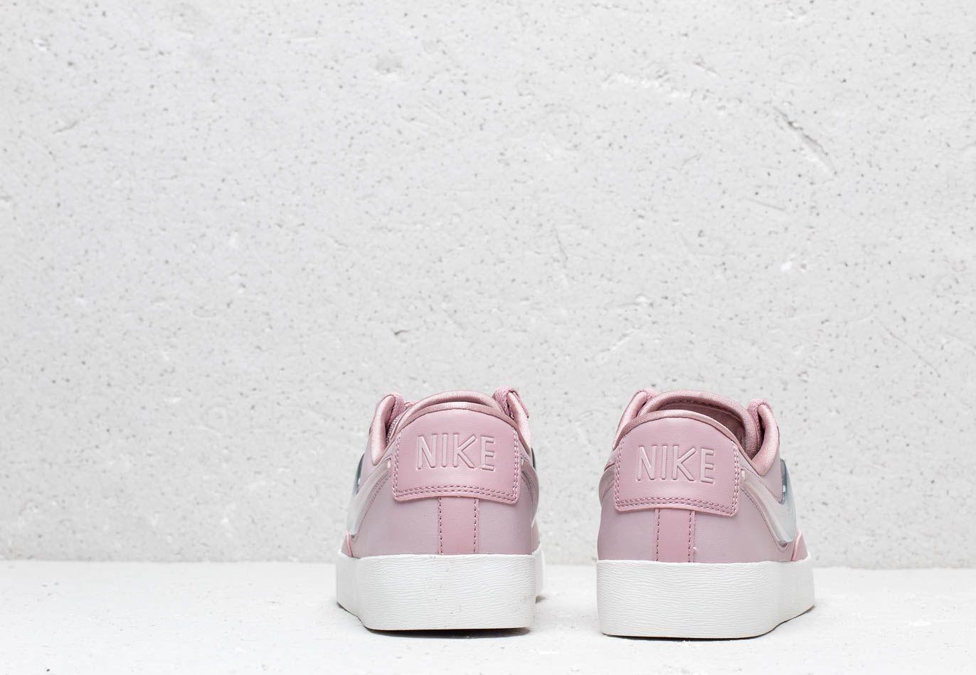 W Blazer Low LX Plum Chalk/ Obsidian Mist-Summit White Nike de Cuero