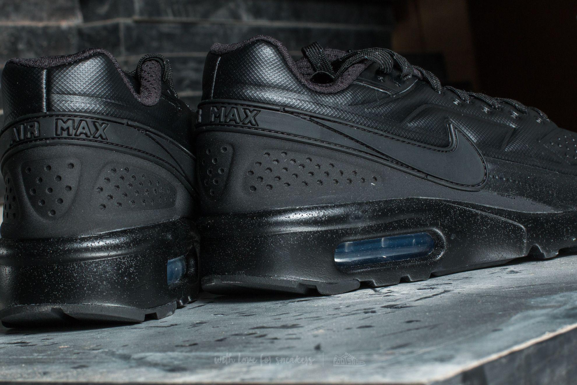 énorme réduction e4827 d60f7 Nike Air Max Bw Ultra Se Premium Black/ Black-black for men
