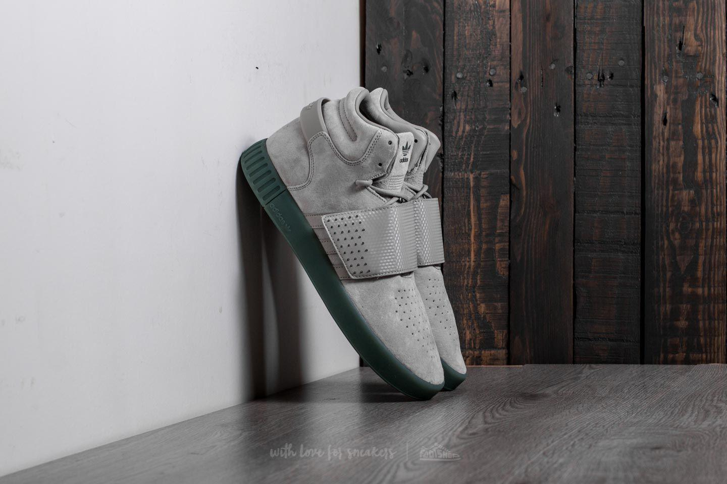 new high cheap for discount on wholesale Adidas Tubular Invader Strap Sesame/ Sesame/ Trace Green