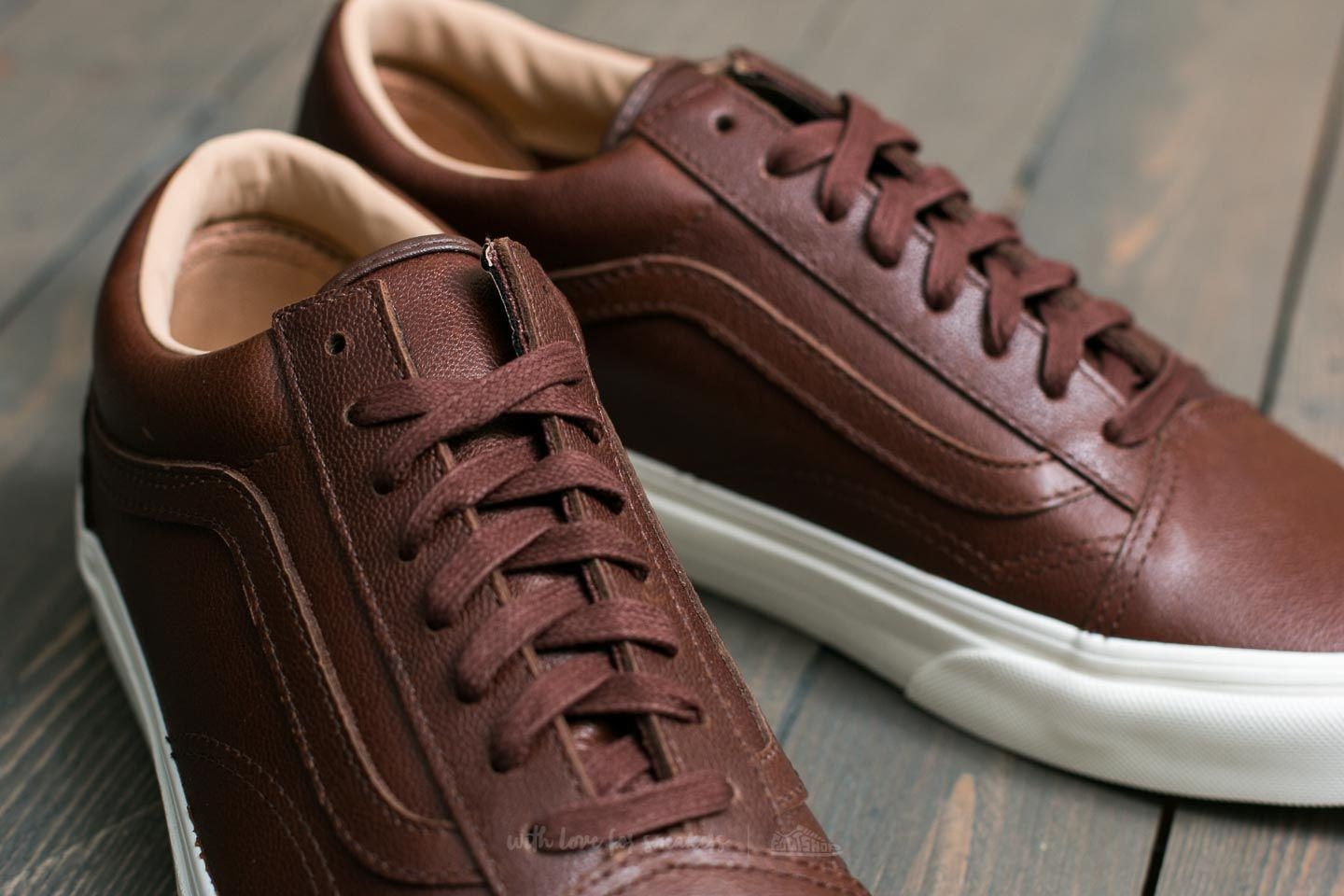 b24075cbd8 Lyst - Vans Old Skool (lux Leather) Chocolate  Porcini in Brown for Men