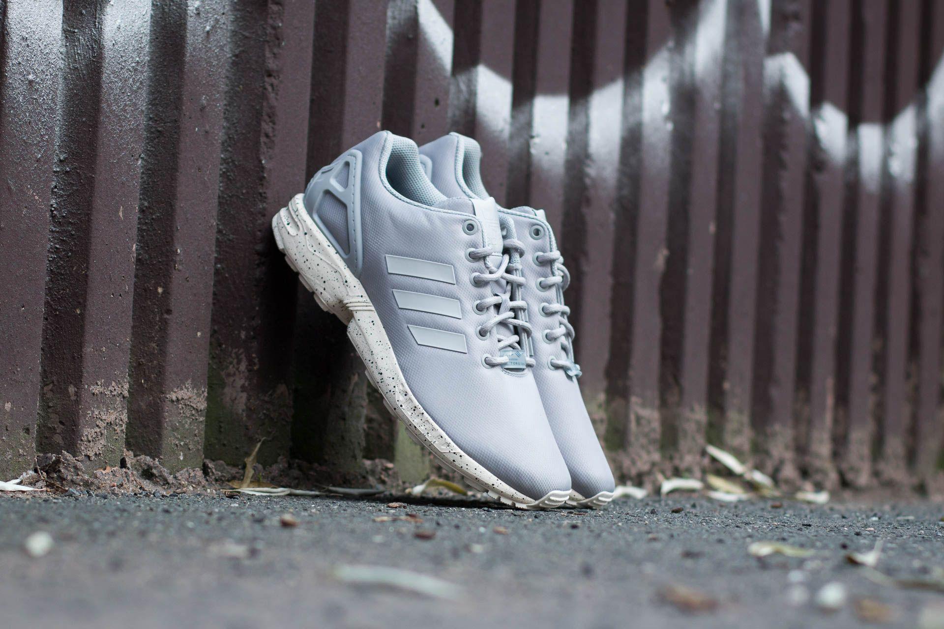 d7f6f973e463f ... where to buy lyst adidas originals adidas zx flux clear onix grey chalk  white 86923 f8c2a