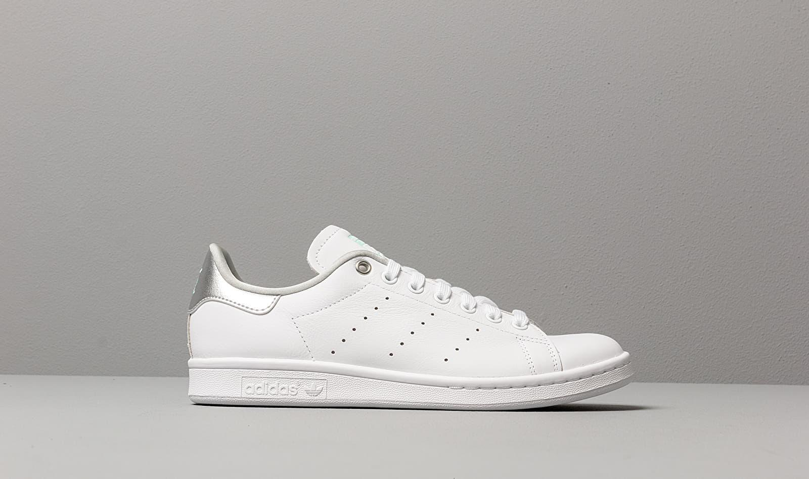new concept f2cfd 19c8b Women's Adidas Stan Smith W Ftw White/ Silver Metalic/ Clear Mint