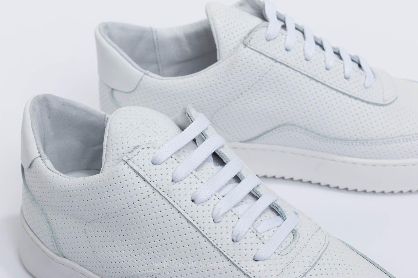 Filling Pieces Leather Low Mondo Ripple