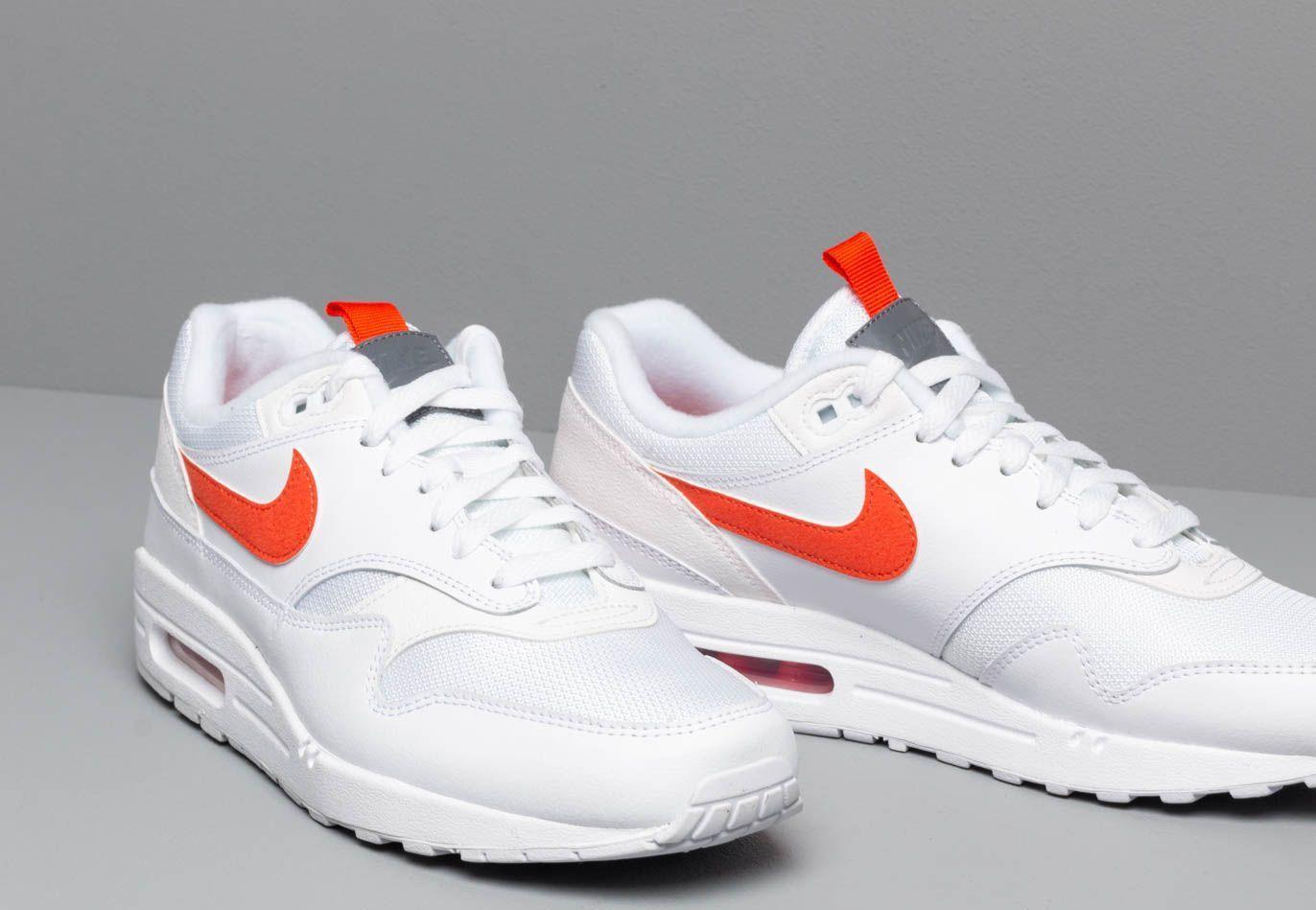 Air Max 1 Se White/ Team Orange Nike pour homme - Lyst