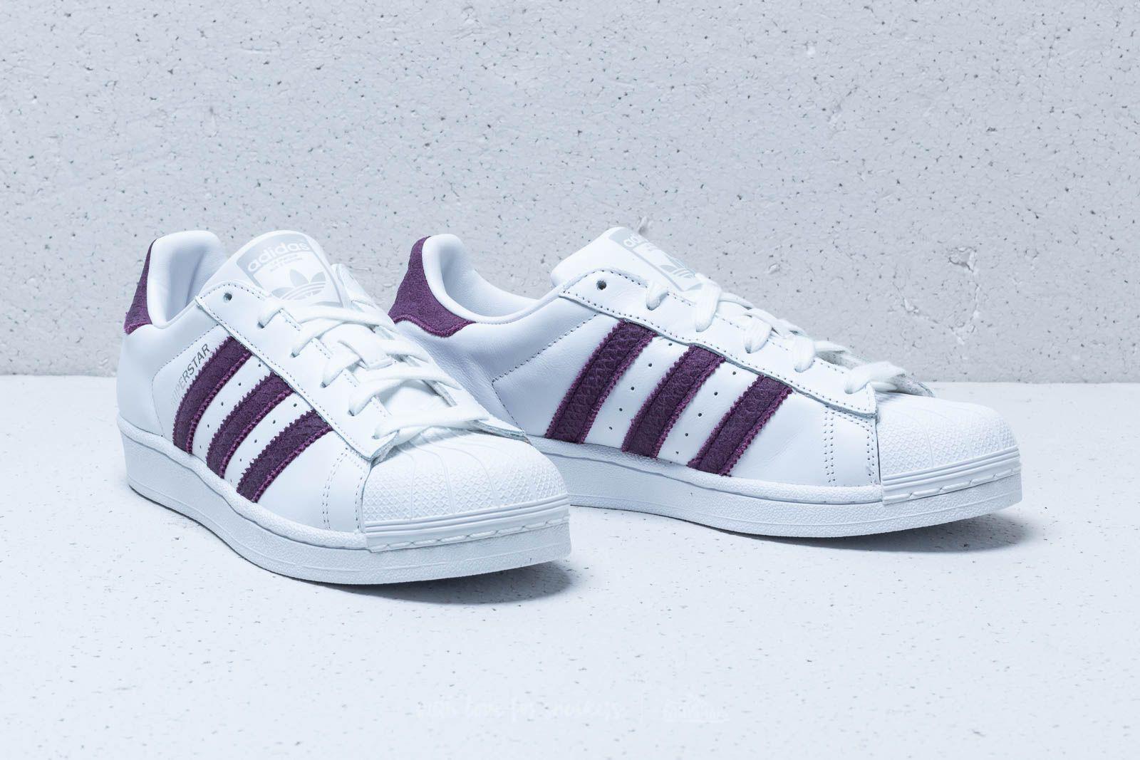 uk availability 93f77 fa3b0 Adidas Originals Multicolor Adidas Superstar W Ftw White/ Red Night/ Silver  Metallic