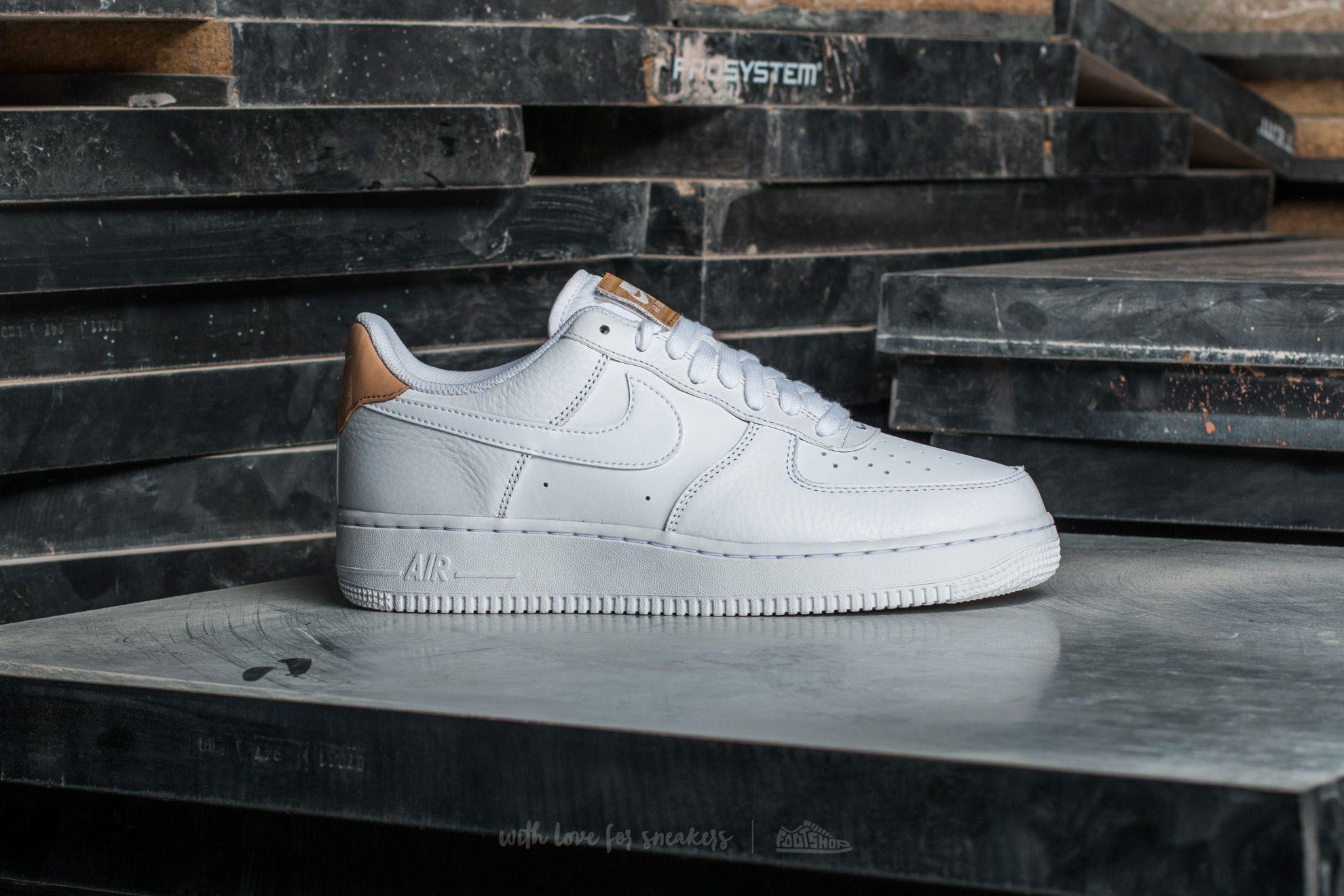 detailed look 16b4a 47058 Nike Air Force 1  07 Lv8 White  White-white Vachetta Tan in White ...