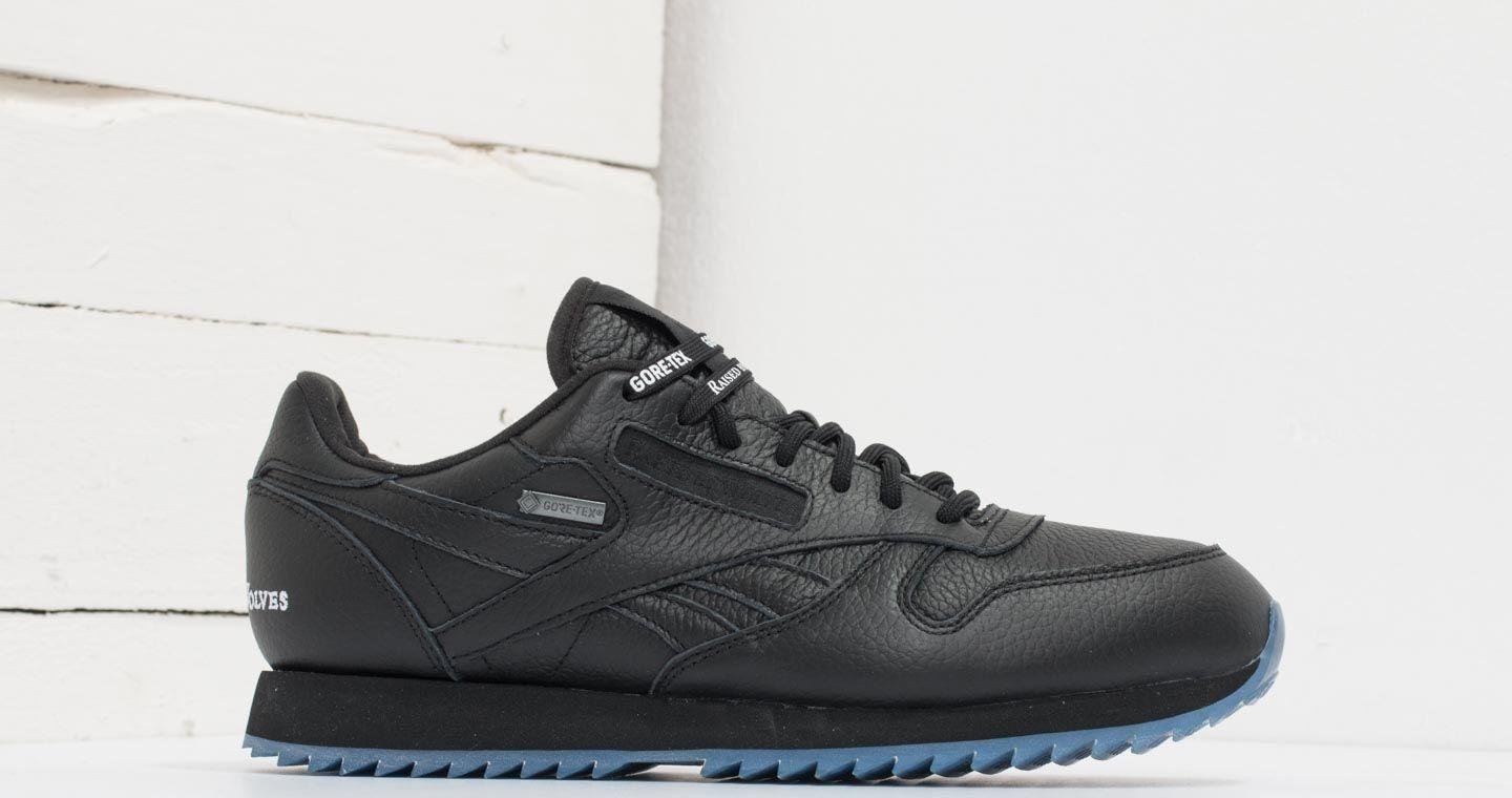 limited style limited sale first look Reebok X Raised By Wolves Classic Leather Ripple Gore-tex Black/ White-ice
