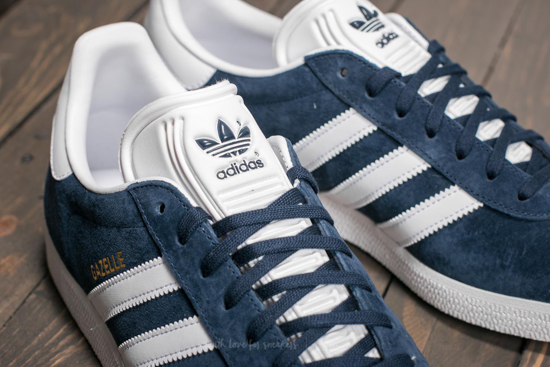 Adidas Gazelle Collegiate Navy/ White/ Gold Metallic