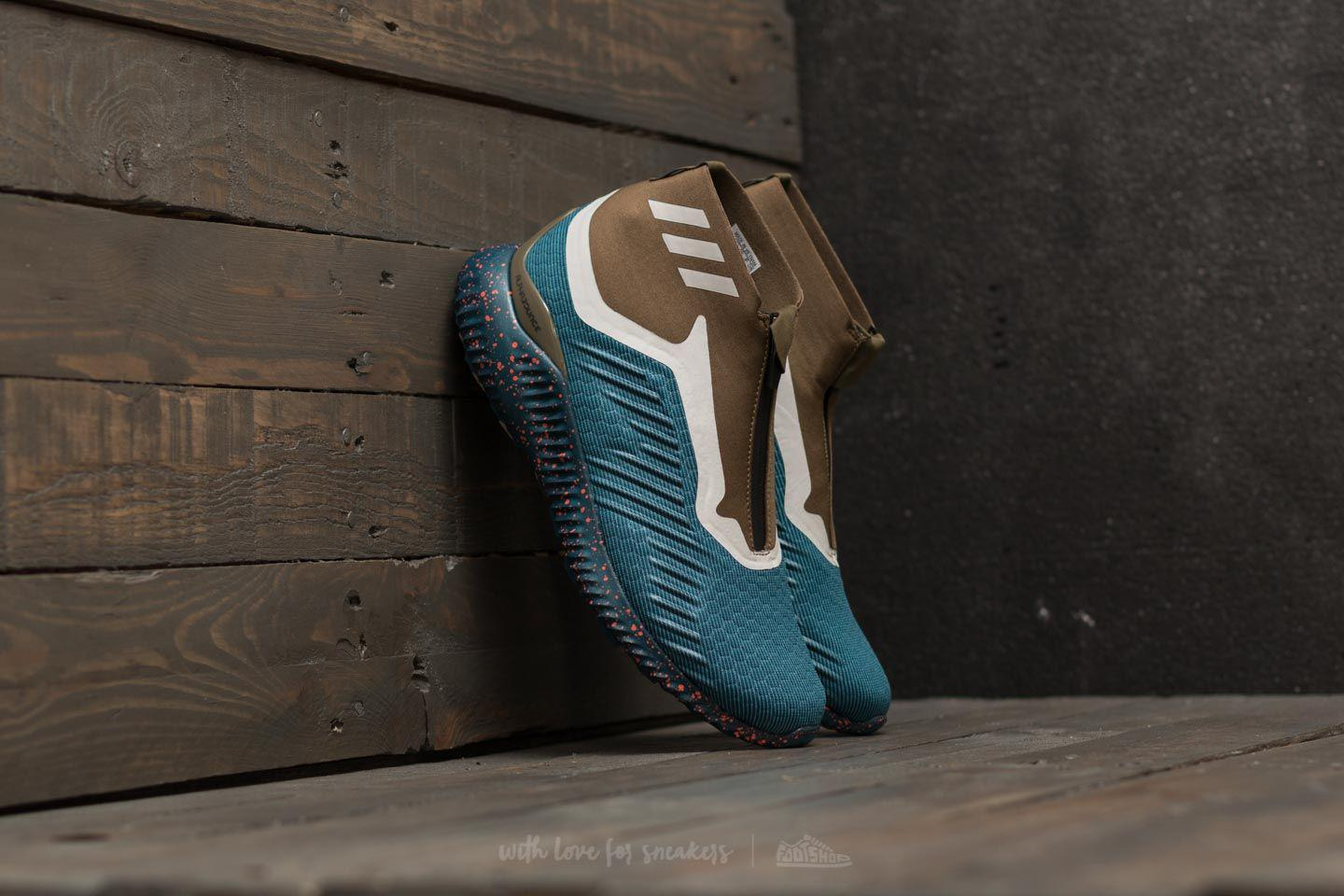 new product 25881 68658 Footshop Adidas Alphabounce Zip M Petrol Night/ Blue Night in Blue ...