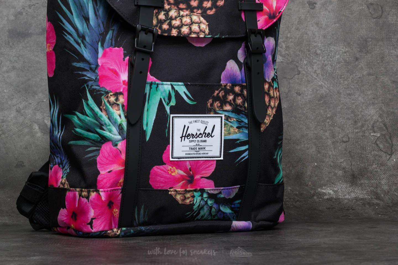 fa584d91295 Lyst - Herschel Supply Co. Retreat Backpack Black Pineapple