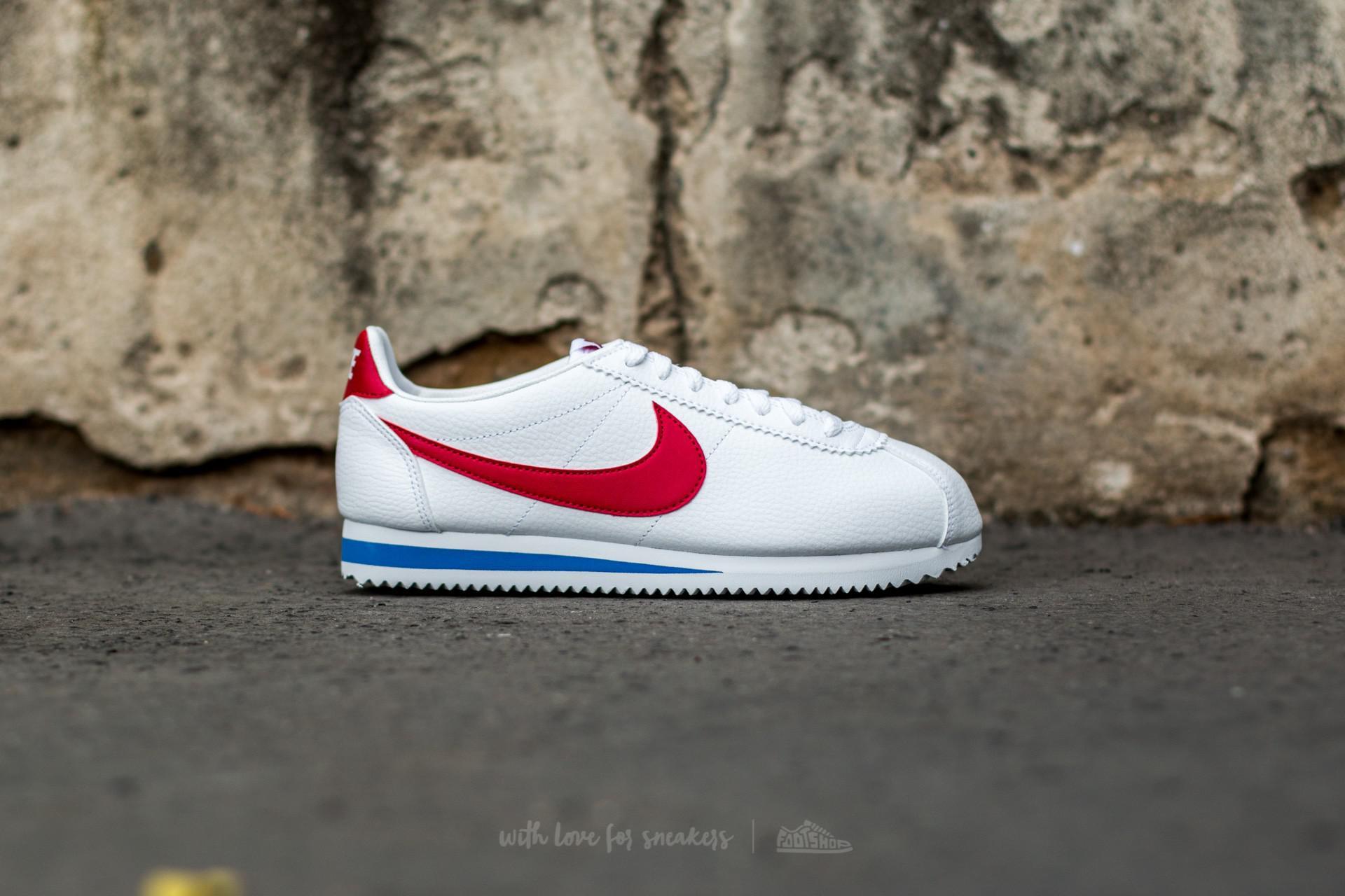007343ce946e03 Nike - Multicolor Classic Cortez Leather White  Varsity Red-varsity Royal  for Men -. View fullscreen