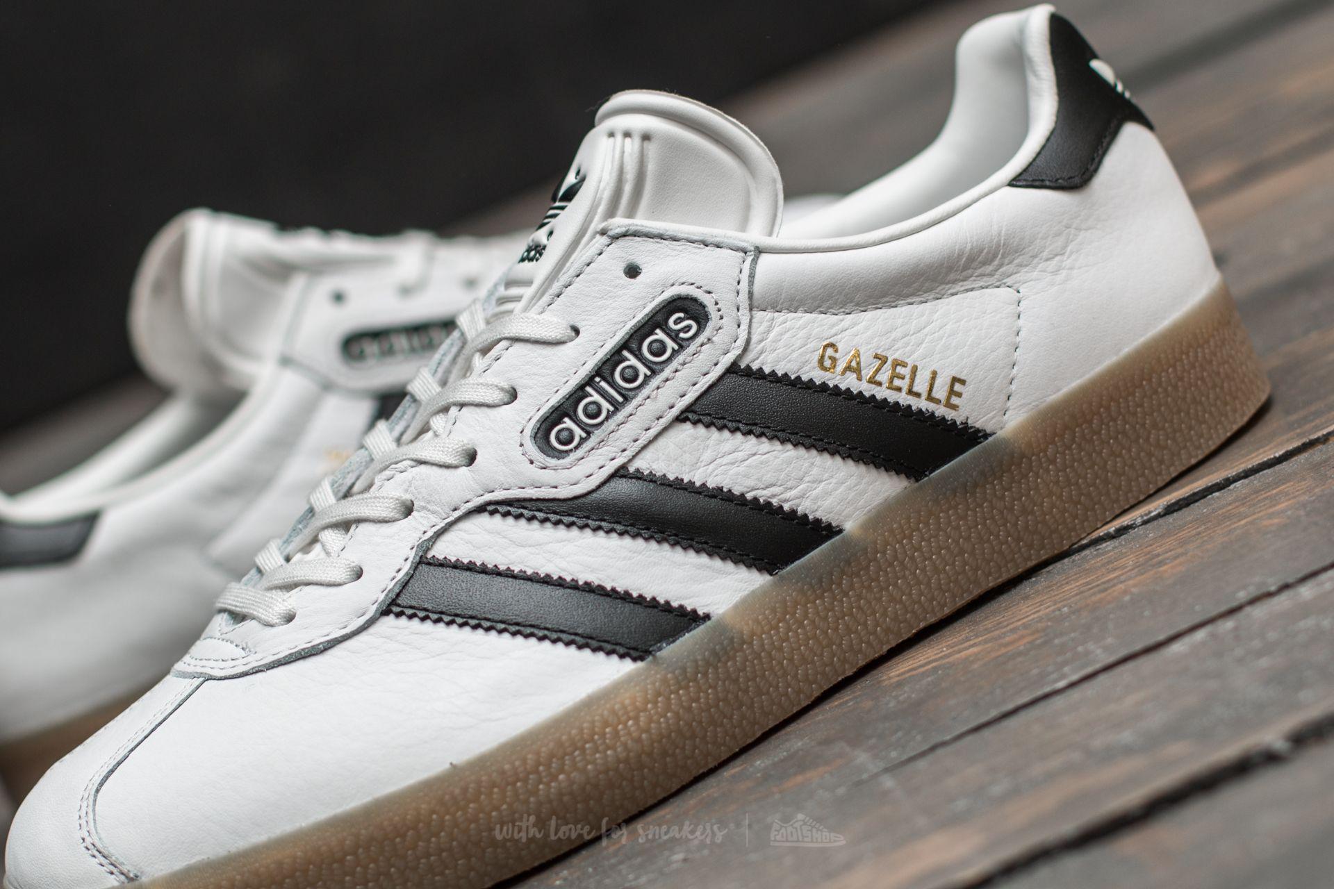 Filadelfia Insignificante algodón  adidas Originals Leather Adidas Gazelle Super Vintage White/ Core Black/ Gum  for Men - Lyst