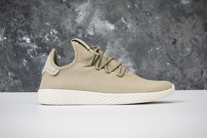 adidas OriginalsPW TENNIS HU - Trainers - tech beige/chalk white rTPR3YCG