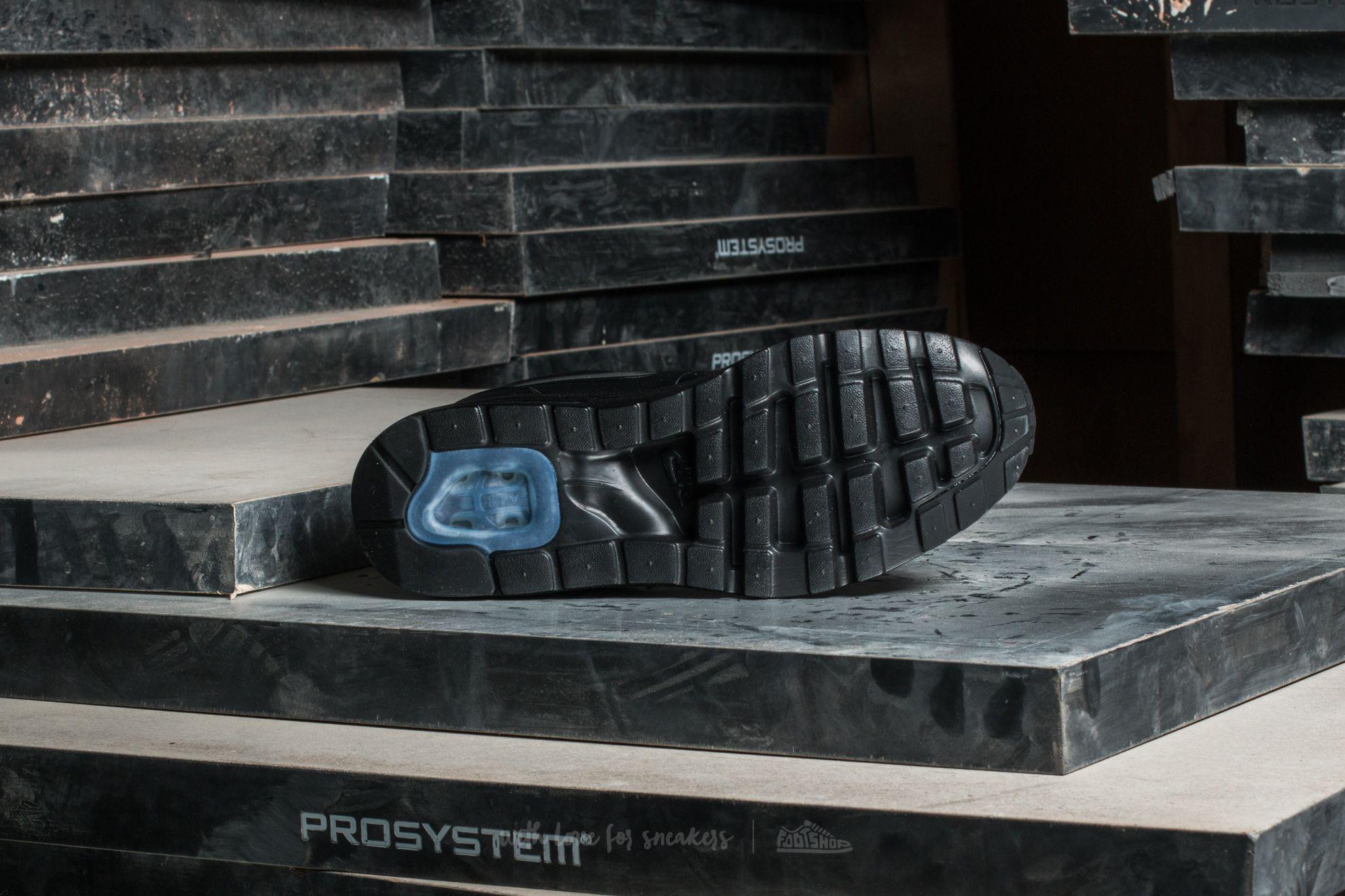 Nike Air Max 1 Ultra SE Premium Mens BlackMetallic Hematite