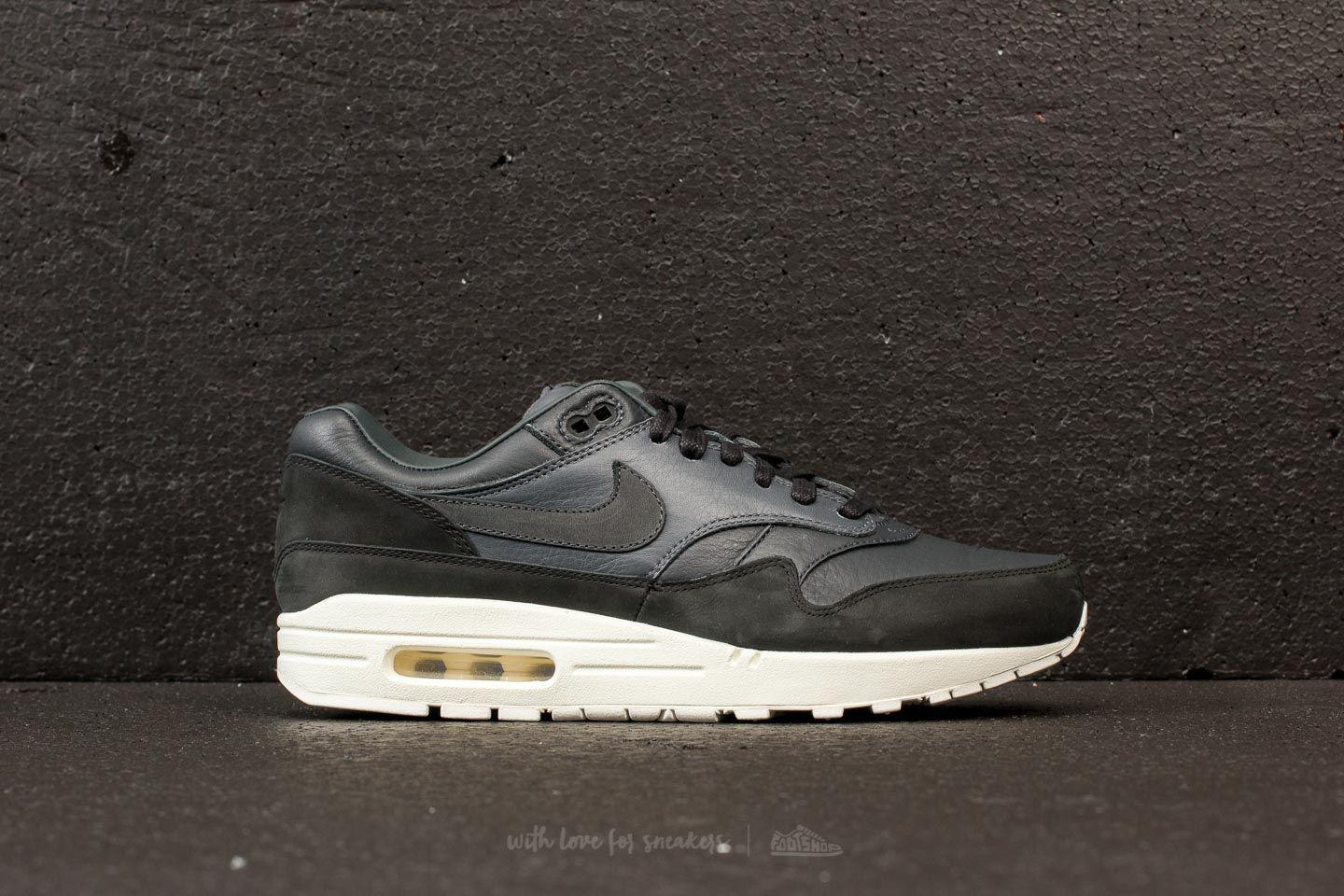 Lyst - Nike Lab Air Max 1 Pinnacle Black  Anthracite-dark Grey in ... e8e283087