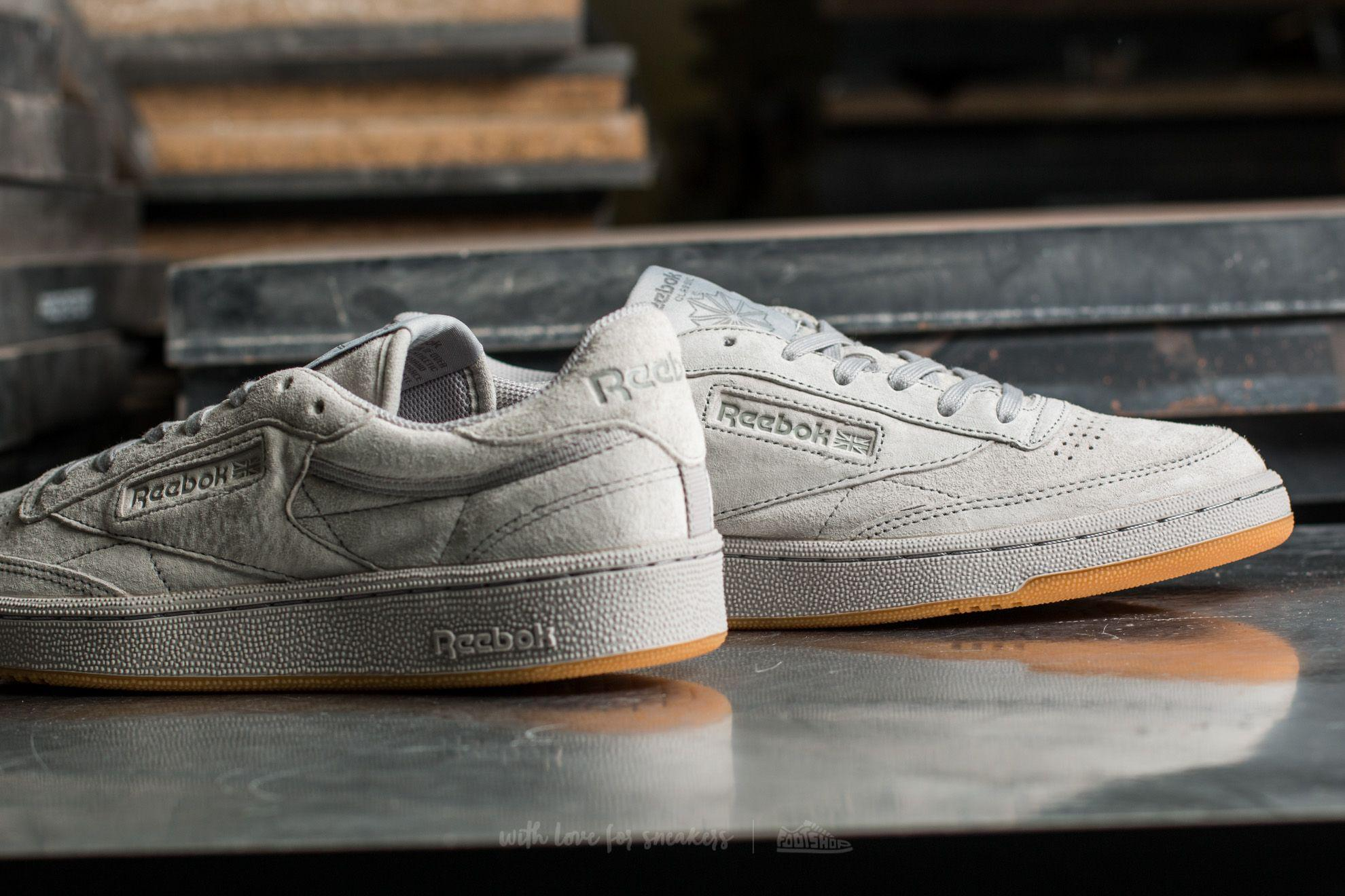 Reebok Club C 85 Tg Steel Carbon Gum In Gray For Men Lyst