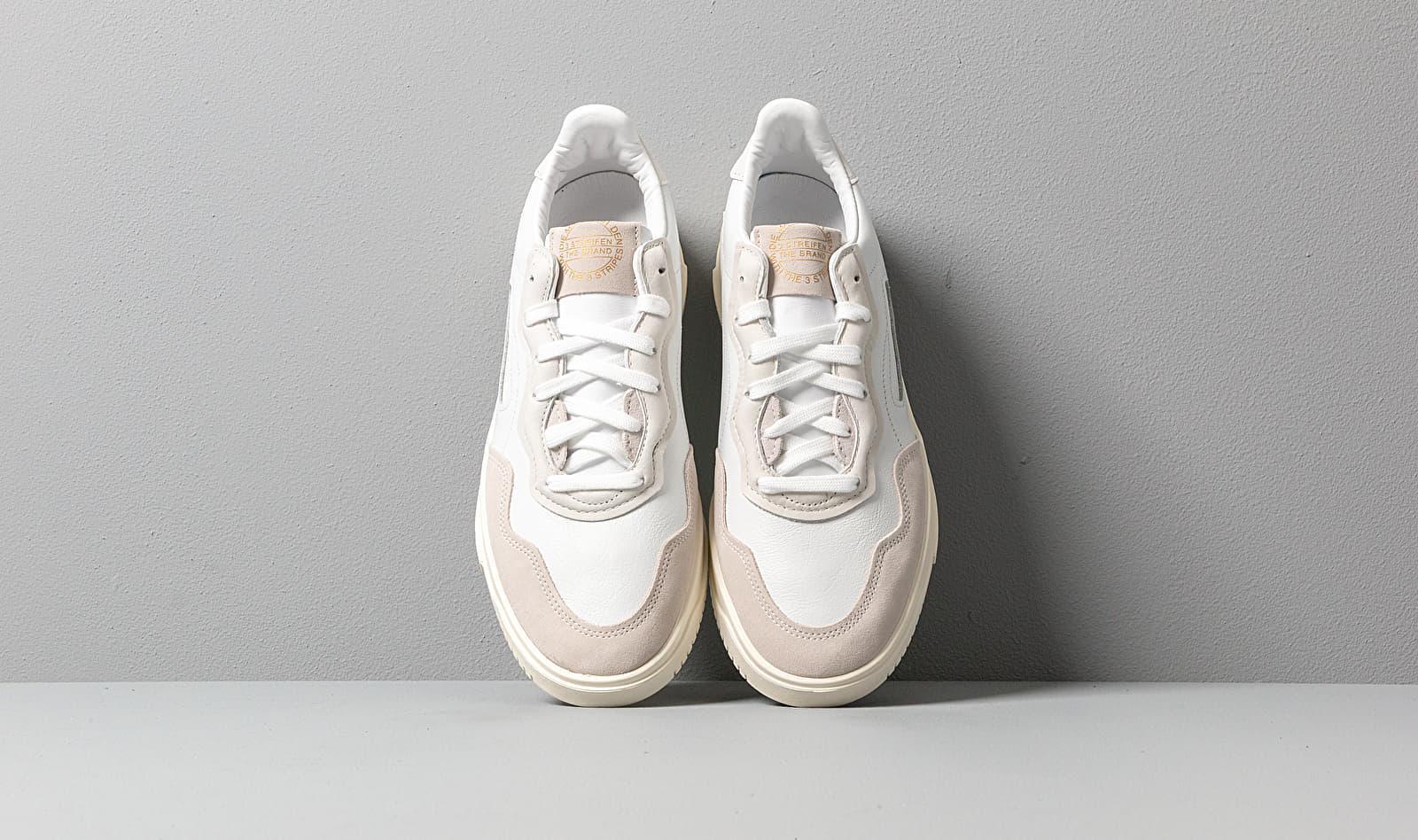 Adidas SC Premiere Crystal White/ Crystal White/ Core White adidas Originals de Cuero de hombre: ahorra un 29 %
