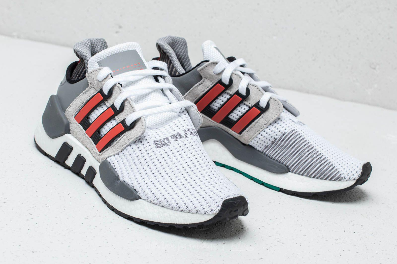 Adidas Eqt Support 91/18 Ftw White/ Hi-res Red/ Grey Two