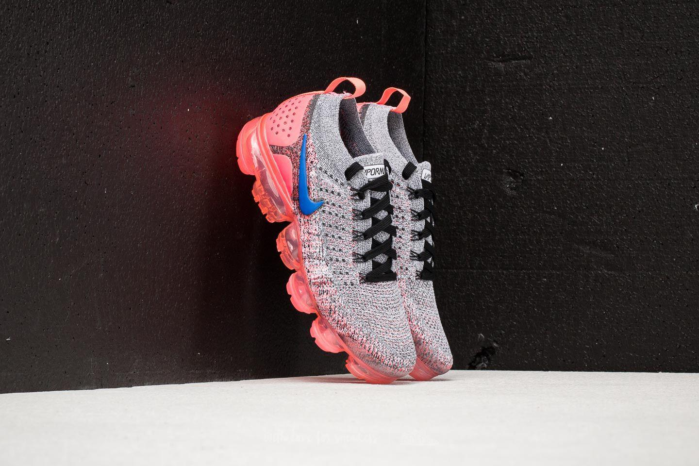 buy popular adf9f d3ea8 Women's Air Vapormax Flyknit 2 W White/ Ultramarine-hot Punch