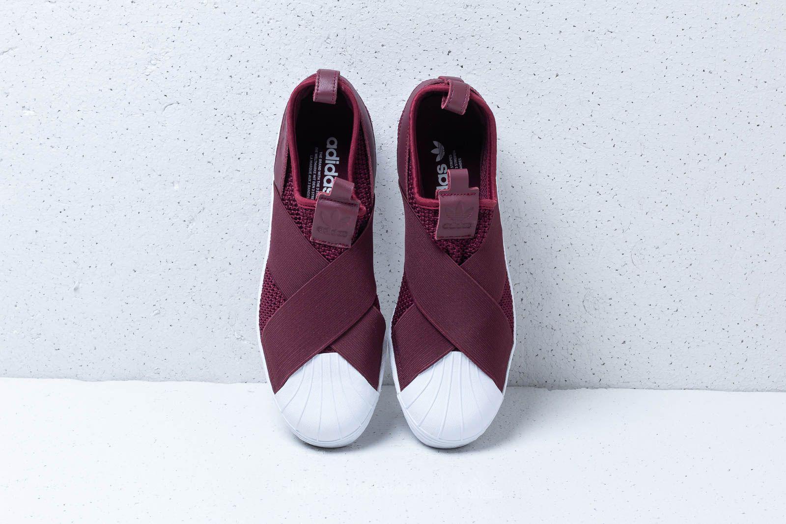 Adidas Superstar Slip On W Red