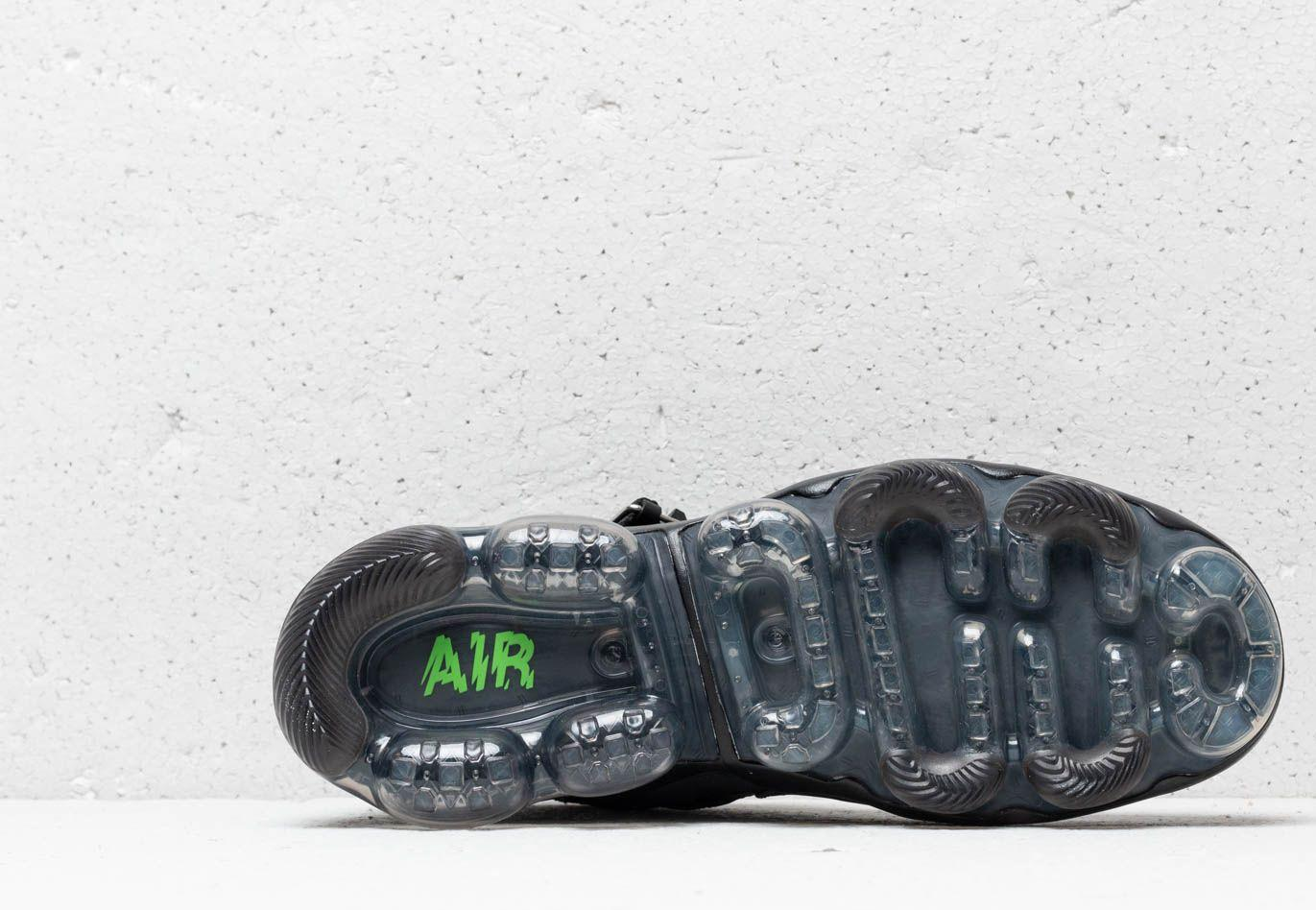 bfec315a1c8b6 Nike - Air Vapormax Premier Flyknit Black  Signal Blue-green Strike for Men  -. View fullscreen