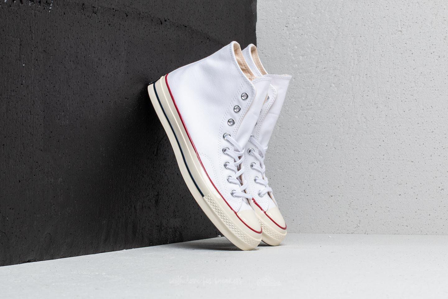d171d5b9be3a3c Lyst - Converse Chuck Taylor All Star 70 Hi White  Garnet  Egret in ...
