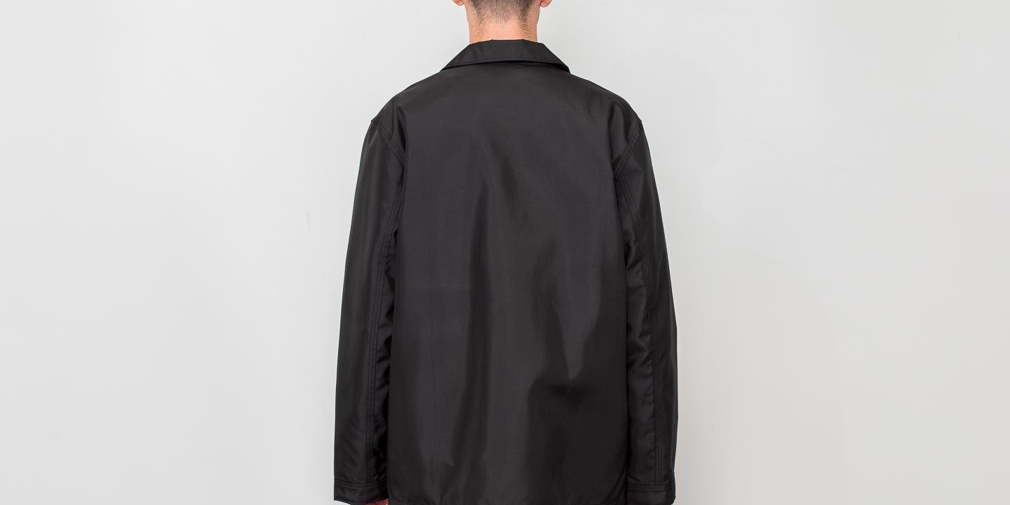 2a7236ff2228 ... Adidas X Alexander Wang Coach Jacket Black  White  Core Red for. View  fullscreen
