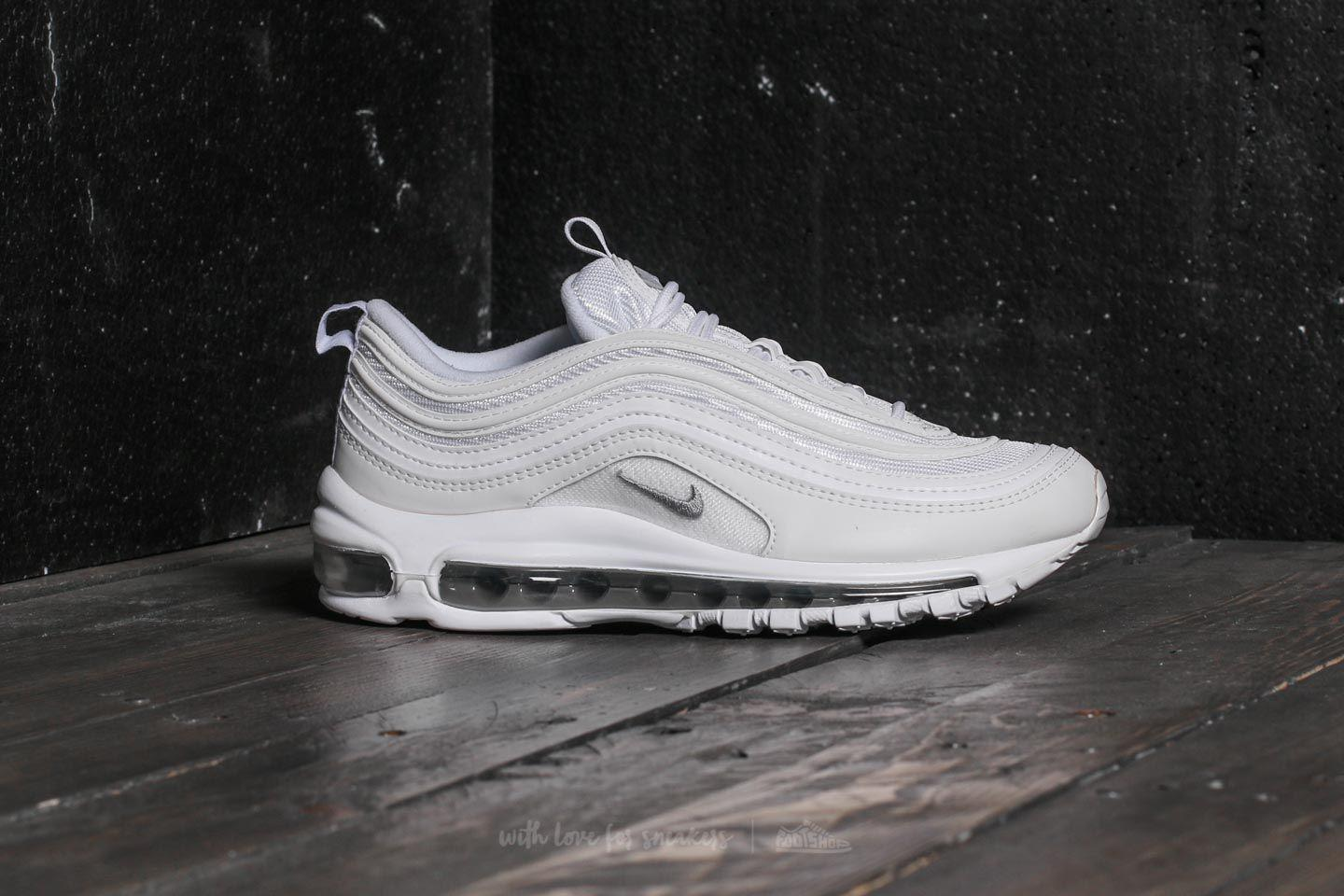 Lyst - Nike Air Max 97 (gs) White Wolf Grey-black in Black