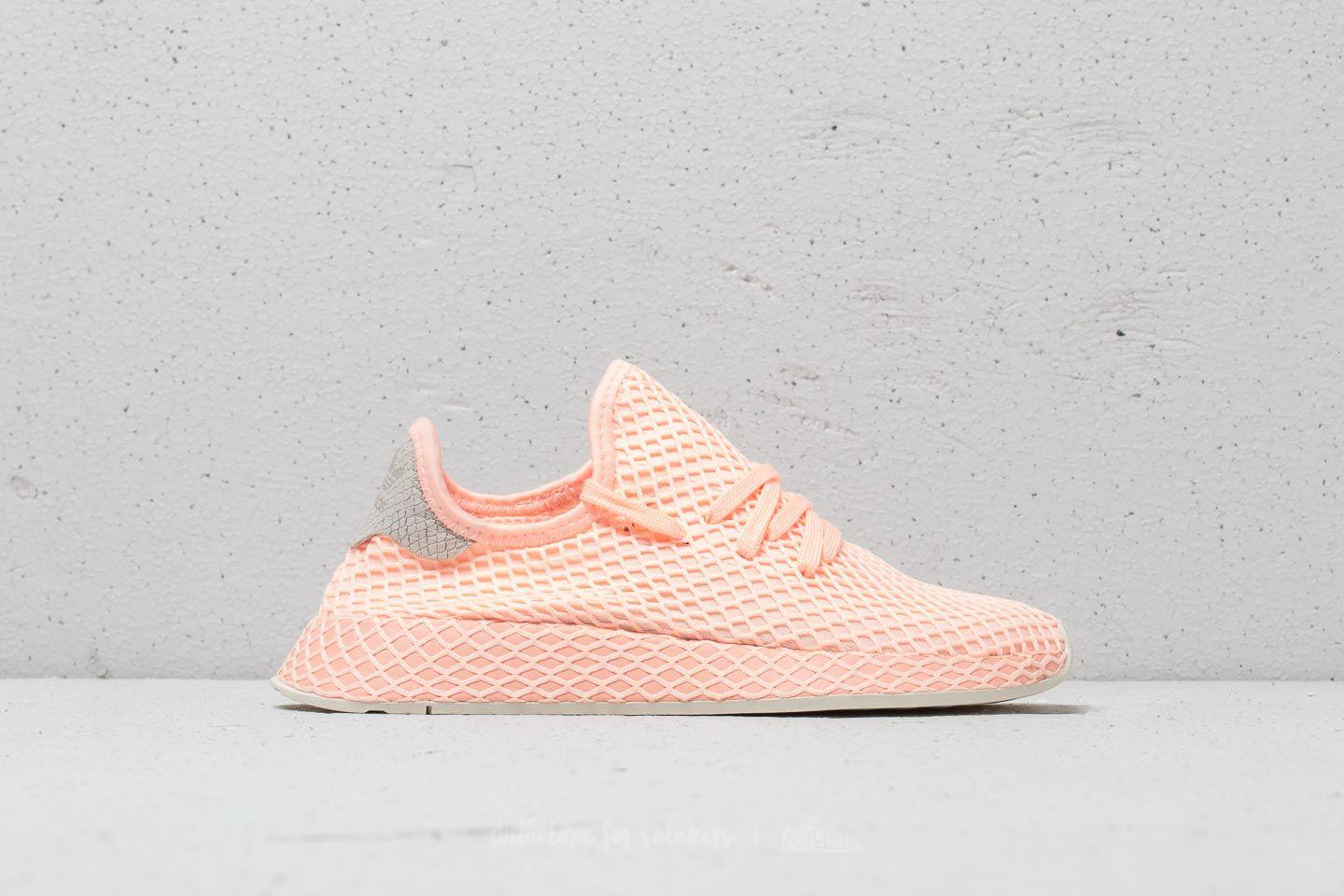 44ba8f454 Lyst - adidas Originals Adidas Deerupt Runner W Clear Orange  Clear ...