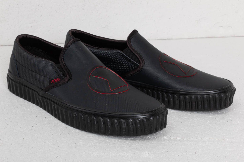 f9a4e3a00e Lyst - Vans Classic Slip-on (marvel) Black Widow  Black in Black for Men