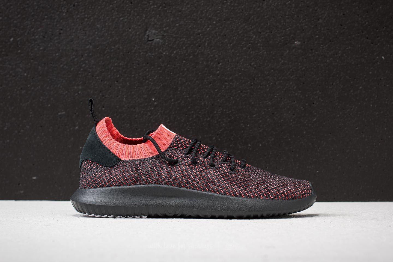 adidas Originals TUBULAR SHADOW PRIMEKNIT - Trainers - core black/trace scarlet 4jFhmeaX