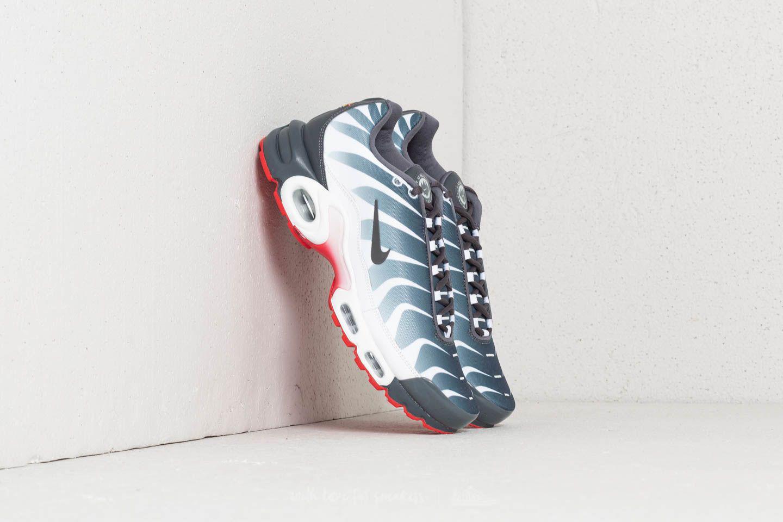 871166a06a3 Lyst - Nike Air Max Plus Tn Se White  Dark Grey-speed Red for Men