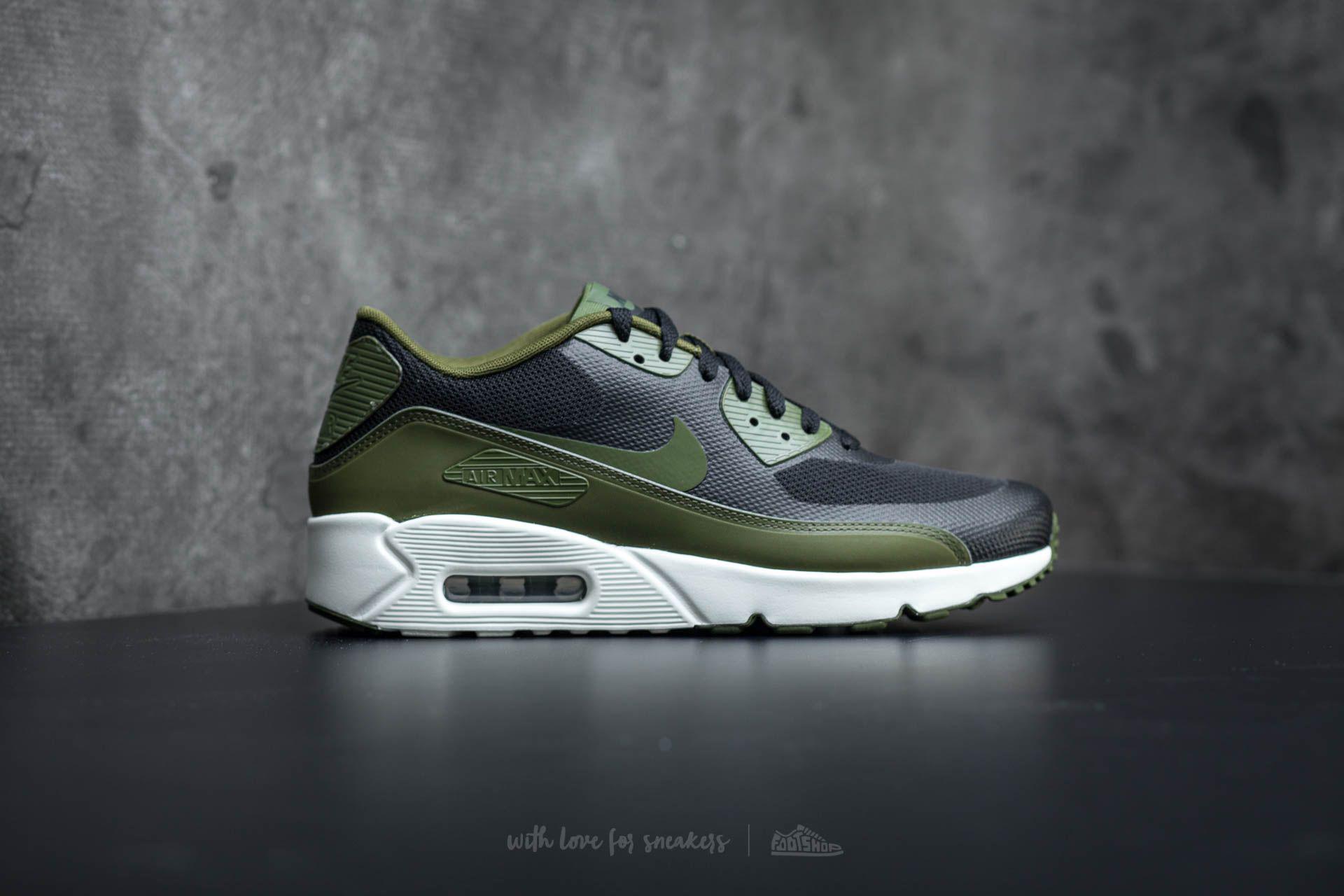 Lyst - Nike Air Max 90 Ultra 2.0 Essential Black  Legion Green-sail ... 8cf058475