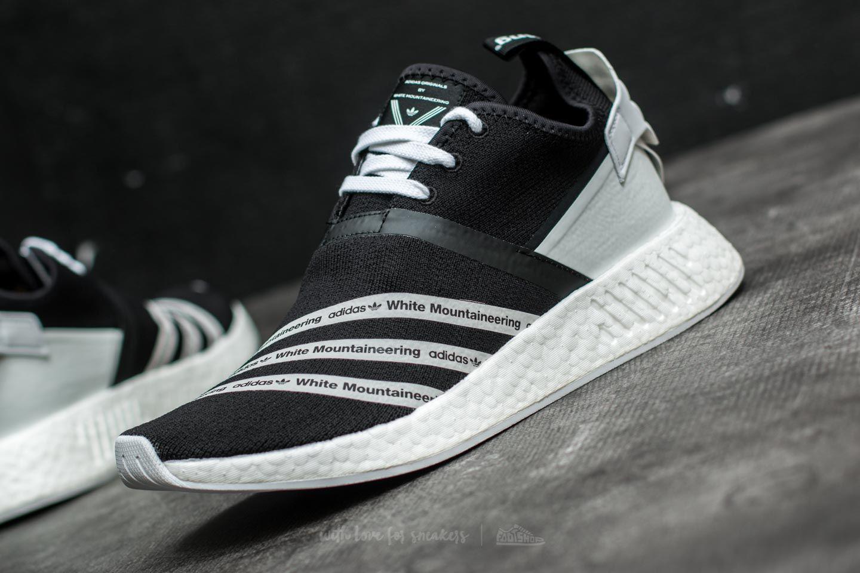meet elegant shoes great prices Adidas X White Mountaineering Nmd R2 Primeknit Core Black/ Ftw White