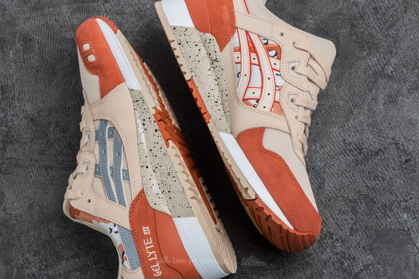 reputable site 9fa17 7ee99 Asics Multicolor Gel-lyte Iii Marzipan/ Silver for men