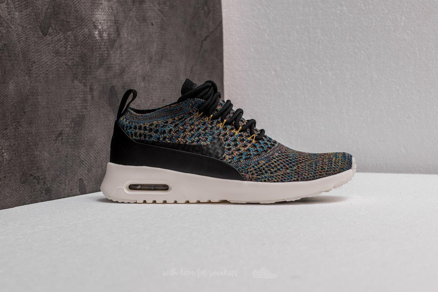 more photos 1ca54 98566 Women's Wmns Air Max Thea Ultra Flyknit Black/ Black-ivory-night Purple