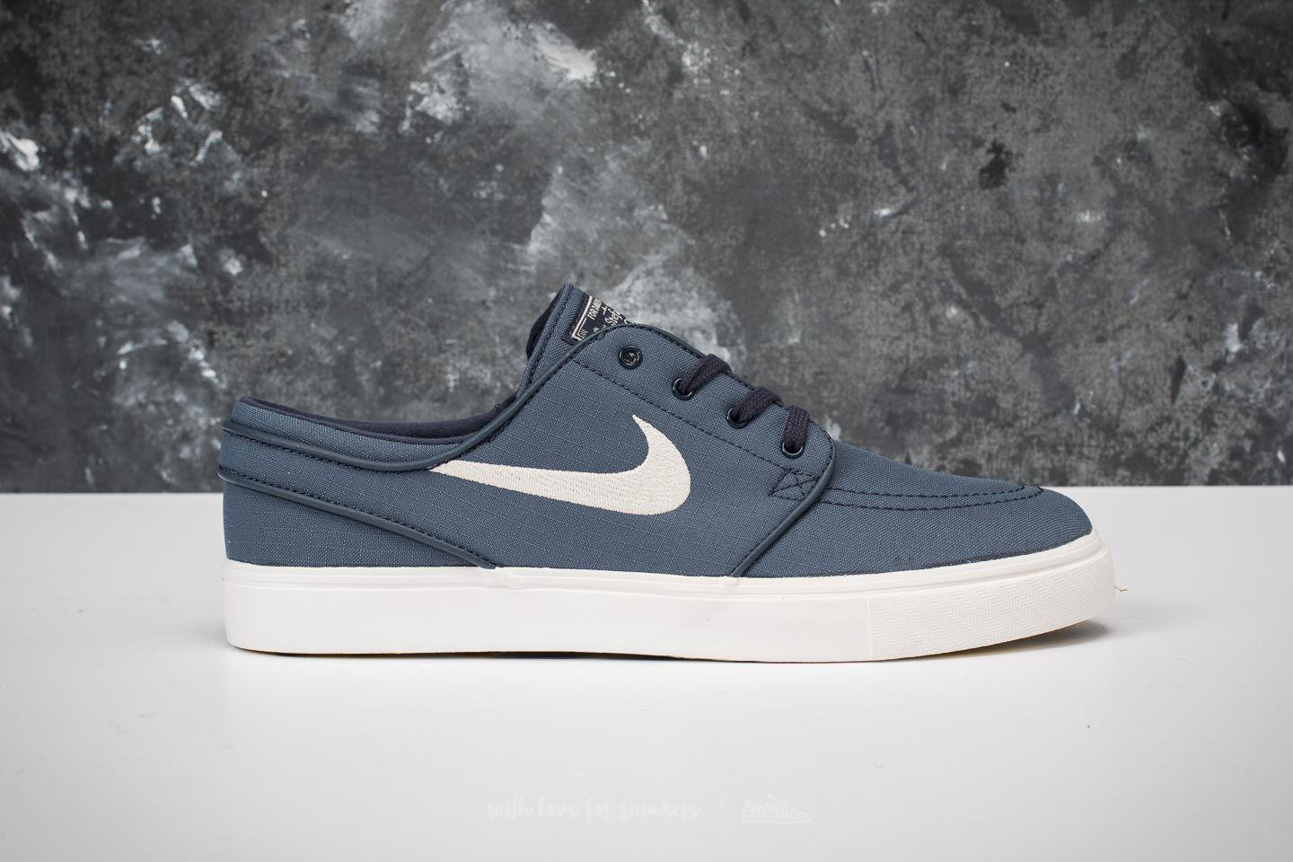 e131046d11ecc Lyst - Nike Zoom Stefan Janoski Canvas Thunder Blue  Light Bone in ...