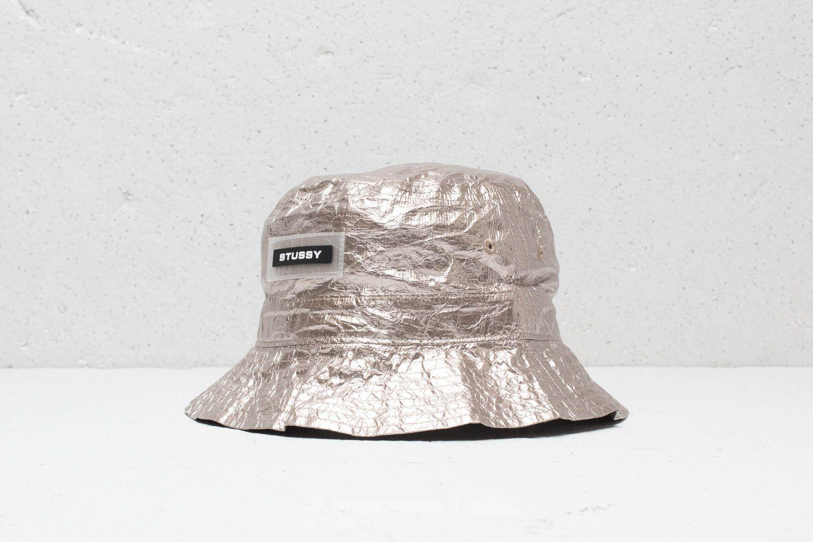 Lyst - Stussy Vera Bucket Hat Silver fc671f2be2e