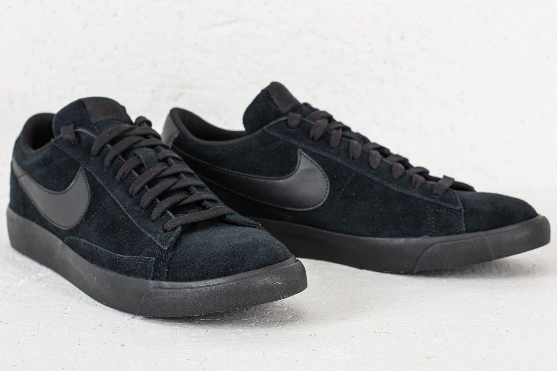 Nike Suede Blazer Low Le Black/ Black for Men - Lyst