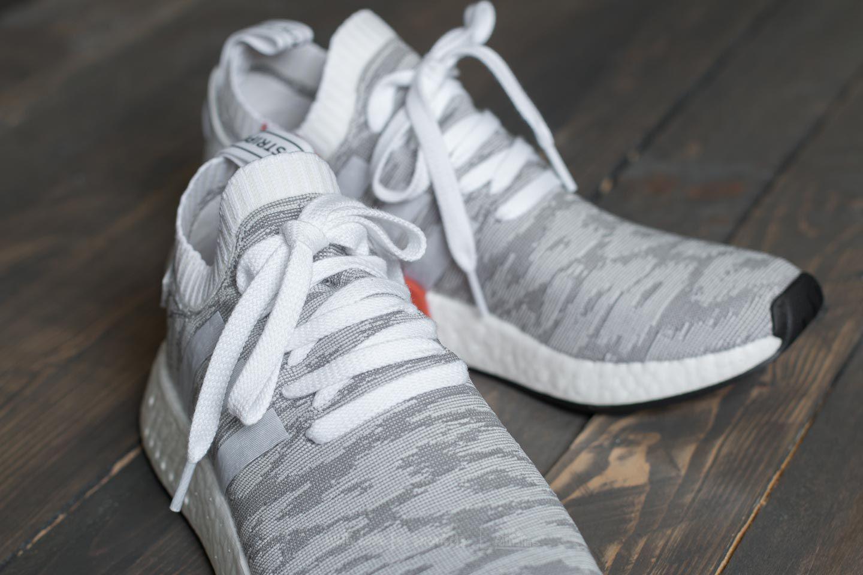 Adidas Originals Adidas Nmd_r2 Primeknit Footwear White Core Black