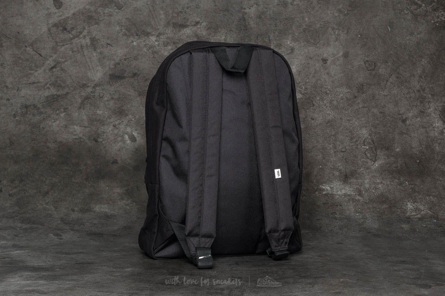 423a062579 Lyst - Vans Realm Classic Backpack Black Cat in Black
