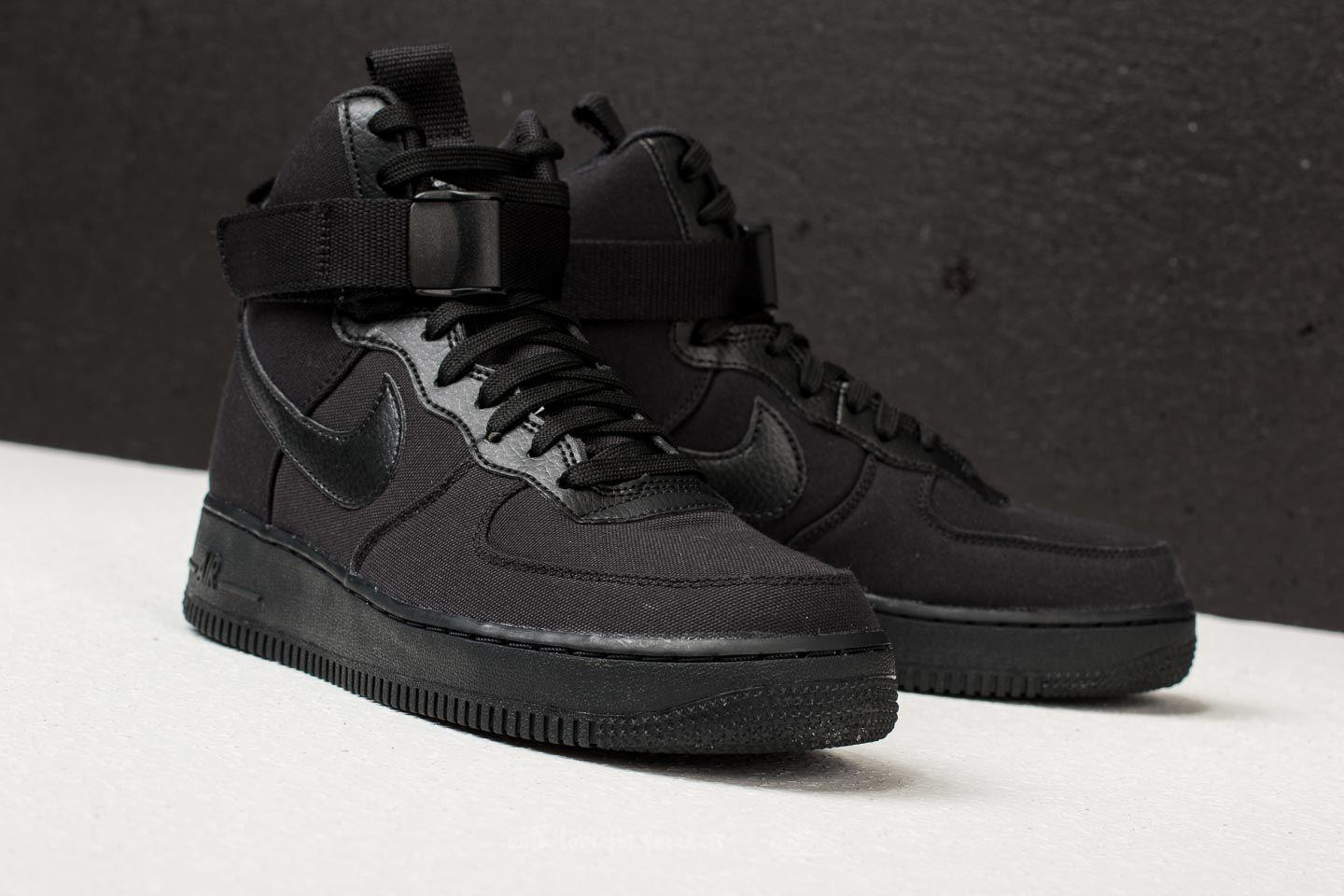Air Force 1 High '07 Canvas Black/ Black-anthracite