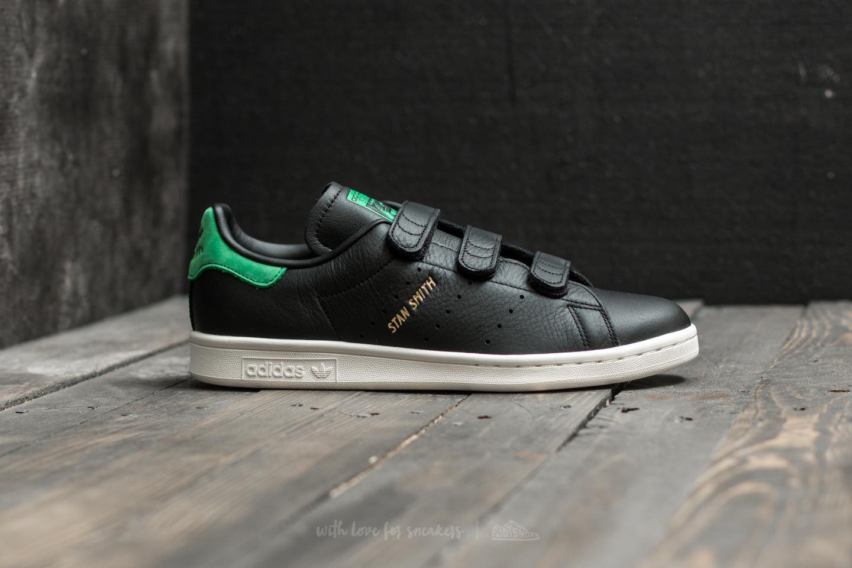 stan smith black green