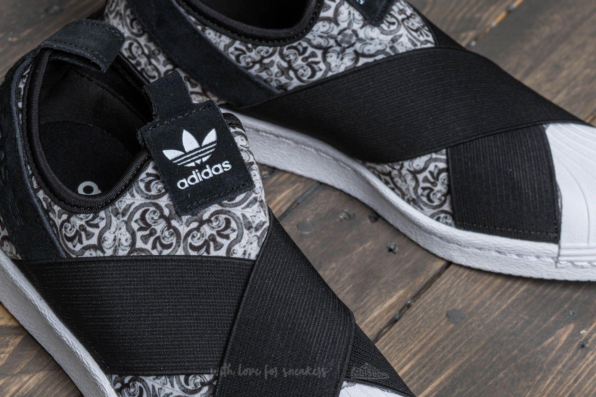 watch b16cc 501c4 Lyst - adidas Originals Adidas Superstar Slip On W Core Black  Core ...