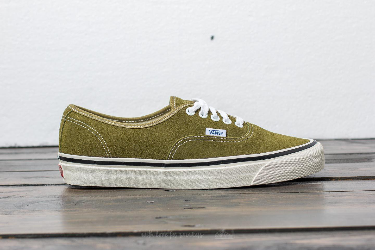 3c913e2c22c253 Lyst - Vans Authentic 44 Dx (anaheim Factory) Suede  Og Olive in ...