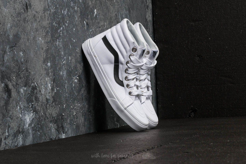 Lyst - Vans Sk8-hi Reissue (oversized Lace) True White for Men 0811f781e