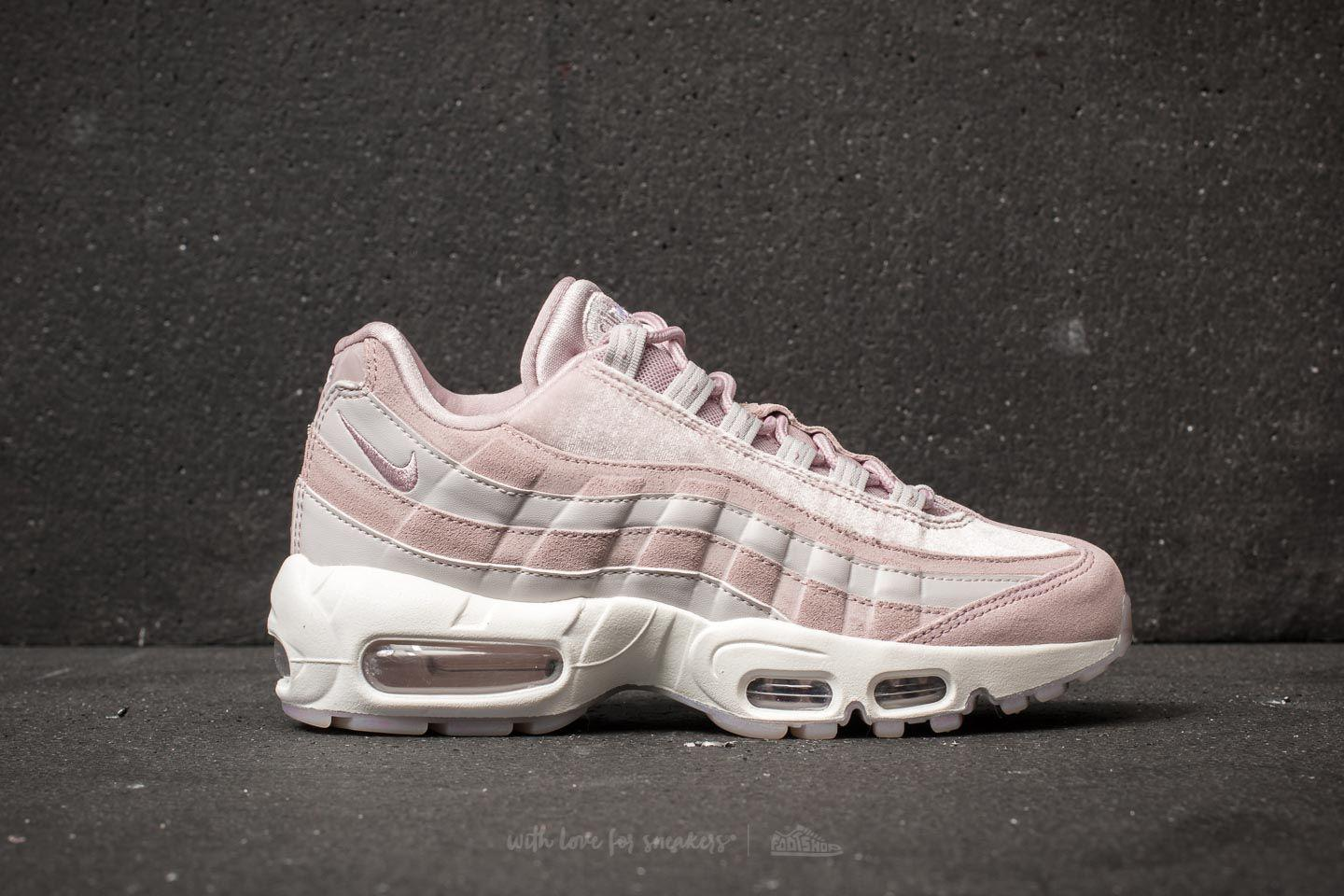 06f30c82d7f nike air max 95 deluxe particle rose