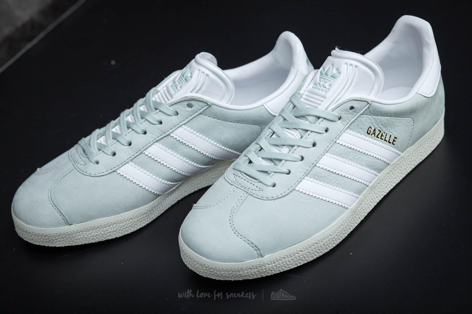 Adidas Gazelle W Linen Green Ftw White Cream White