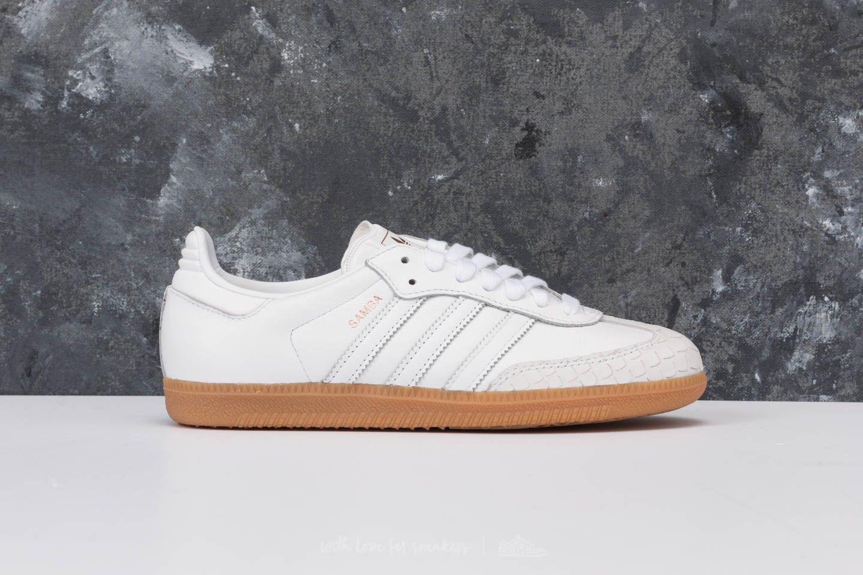 Lyst - adidas Originals Adidas Samba W Ftw White  Ftw White  Gum 4 ... a2d2b75e5574