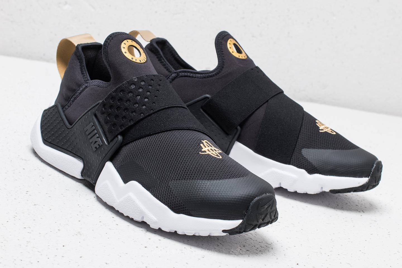8cd9df32c8f7 Lyst - Nike Huarache Extreme (gs) Black  Black-metallic Gold in Black
